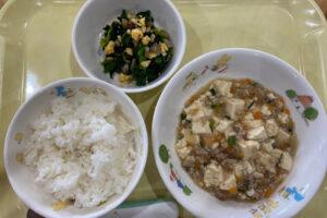 給食 麻婆豆腐